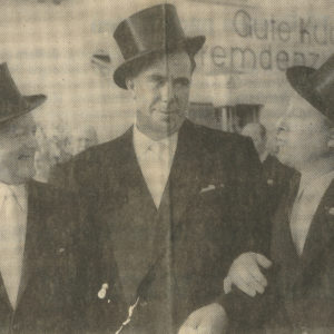 Robert Bröckerhoff, Erich Hartjes, Willi van Gemmeren - 1966