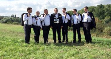 Die Männer des aktuellen Thron (2016) des BSV Birten e.V.
