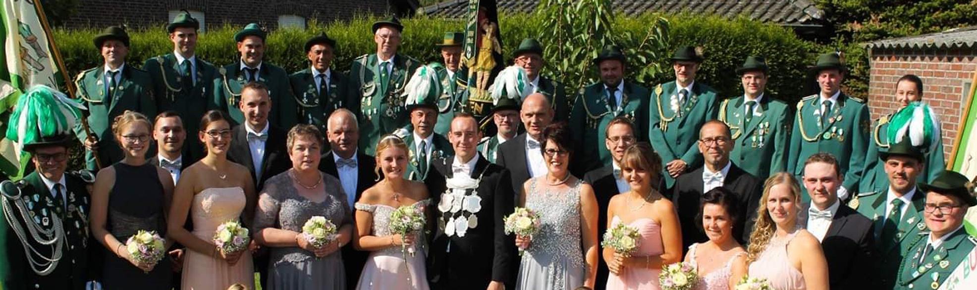 Thron des Bürgerschützenverein Birten e.V. - 2016