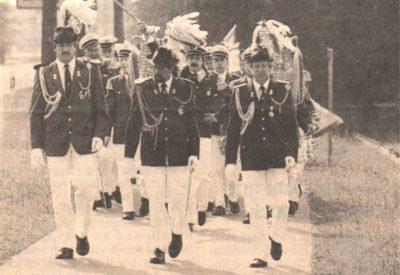 Wahre Schützenfeststimmung kam in Birten auf, als die Senioren den Nachwuchs zum Kinderschützenfest eskortierten.