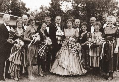 Königspaar: Franz und Sophie Ingenfeld und Thron 1992