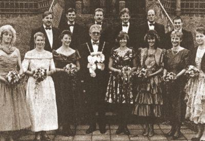 Königspaar: Theo Bruckmann - Dorothea Bruckmann und Thron 1994